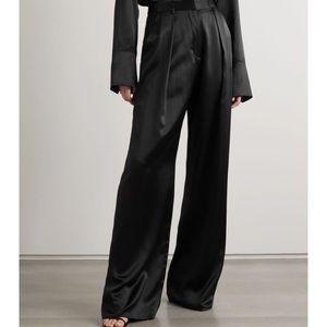 Vintage Ralph Lauren 100% silk pant black highrise
